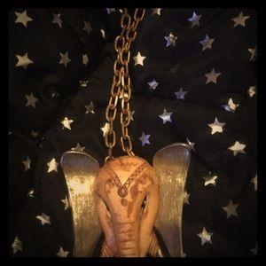 Ivy elephant necklace
